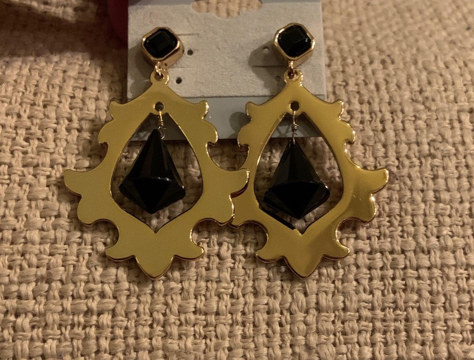 Juicy Couture Crystal Dangle Earrings