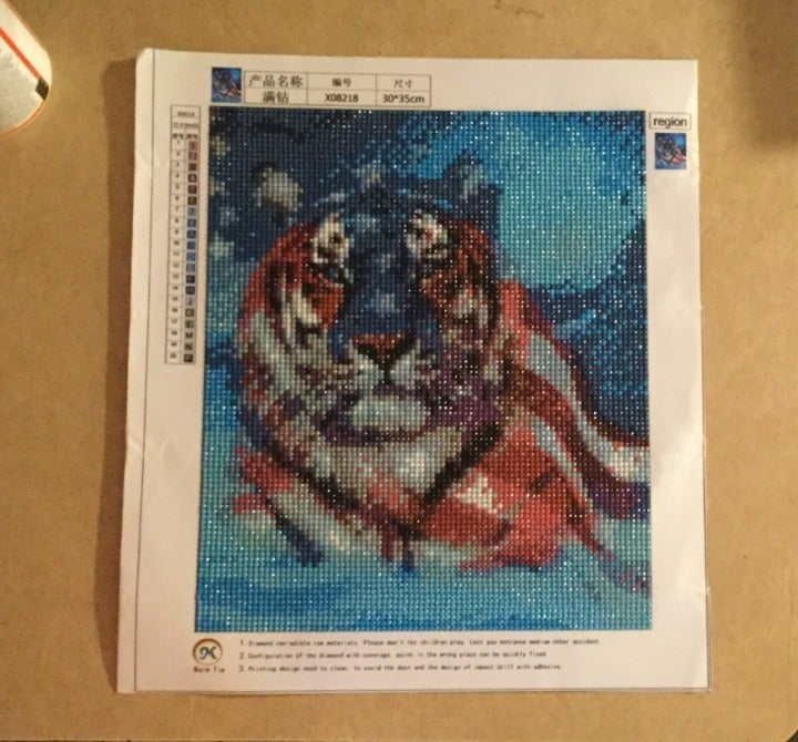 COMPLETED & SEALED 5D Diamond Painting