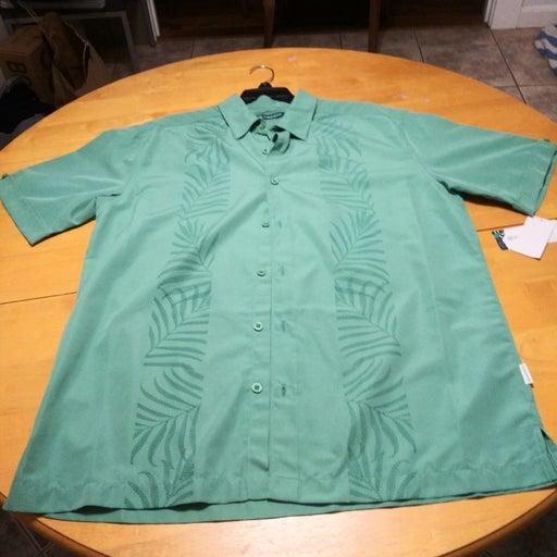 Cubevera Short Sleeve Button Down Shirt