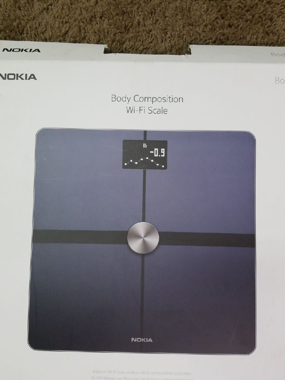 Nokia Body Composition Wifi Scale