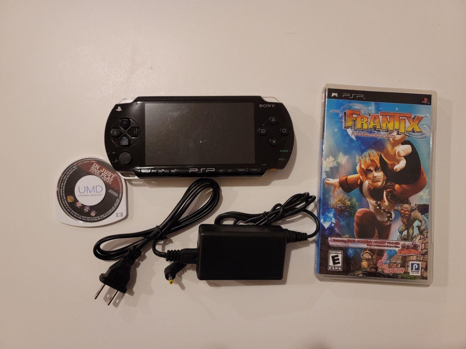 Sony PSP 1000 in Black