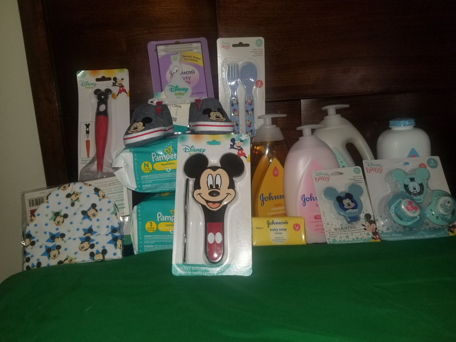 Mickey mouse baby bundle