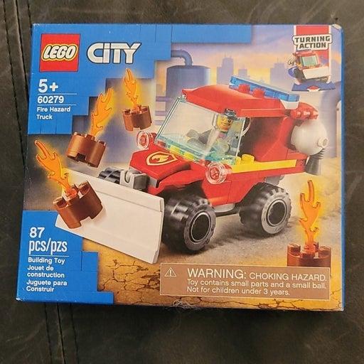 New!! Fire Hazard truck Lego set!