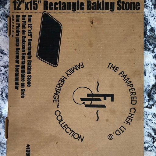 """Pampered Chef 12"""" x 15"""" Rectangle Baking"""