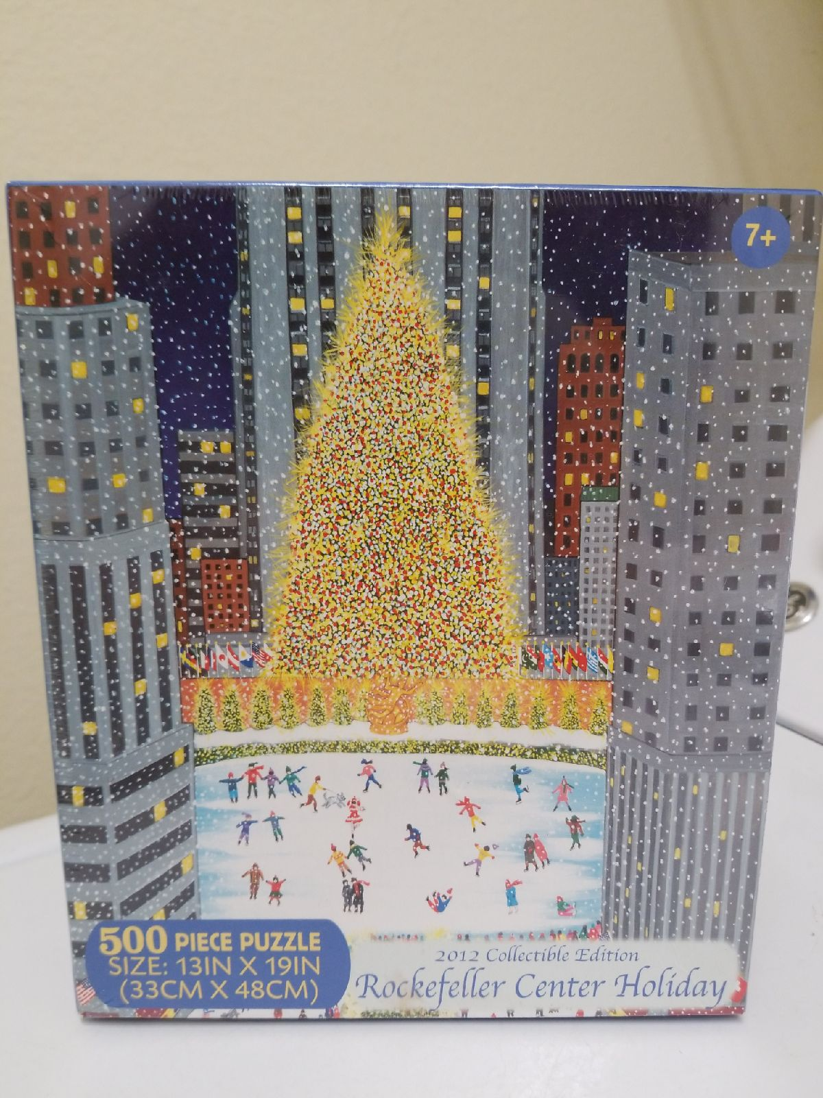 Rockefeller Center Holiday Puzzle