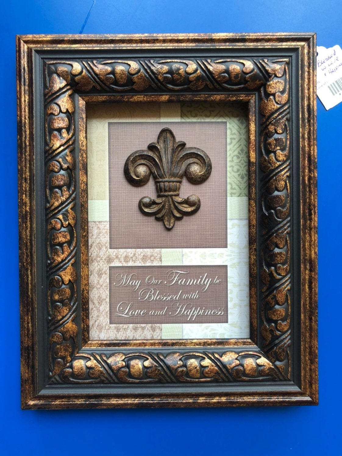 Family Blessed with Happiness Wallframe
