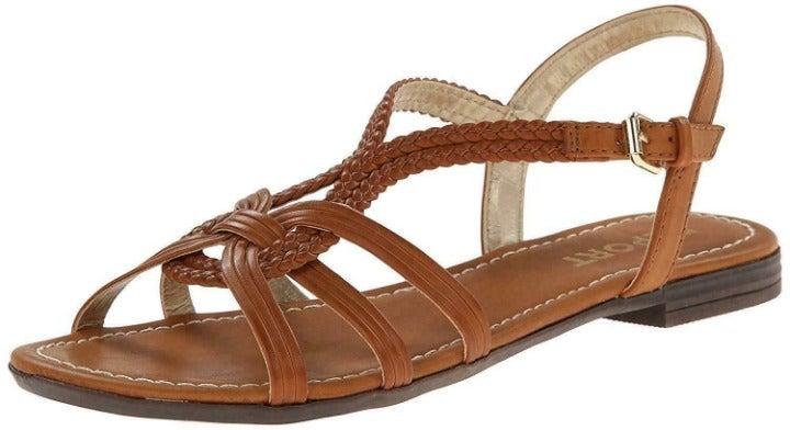 Report Women's Galaxie Tan Sandals 9 M