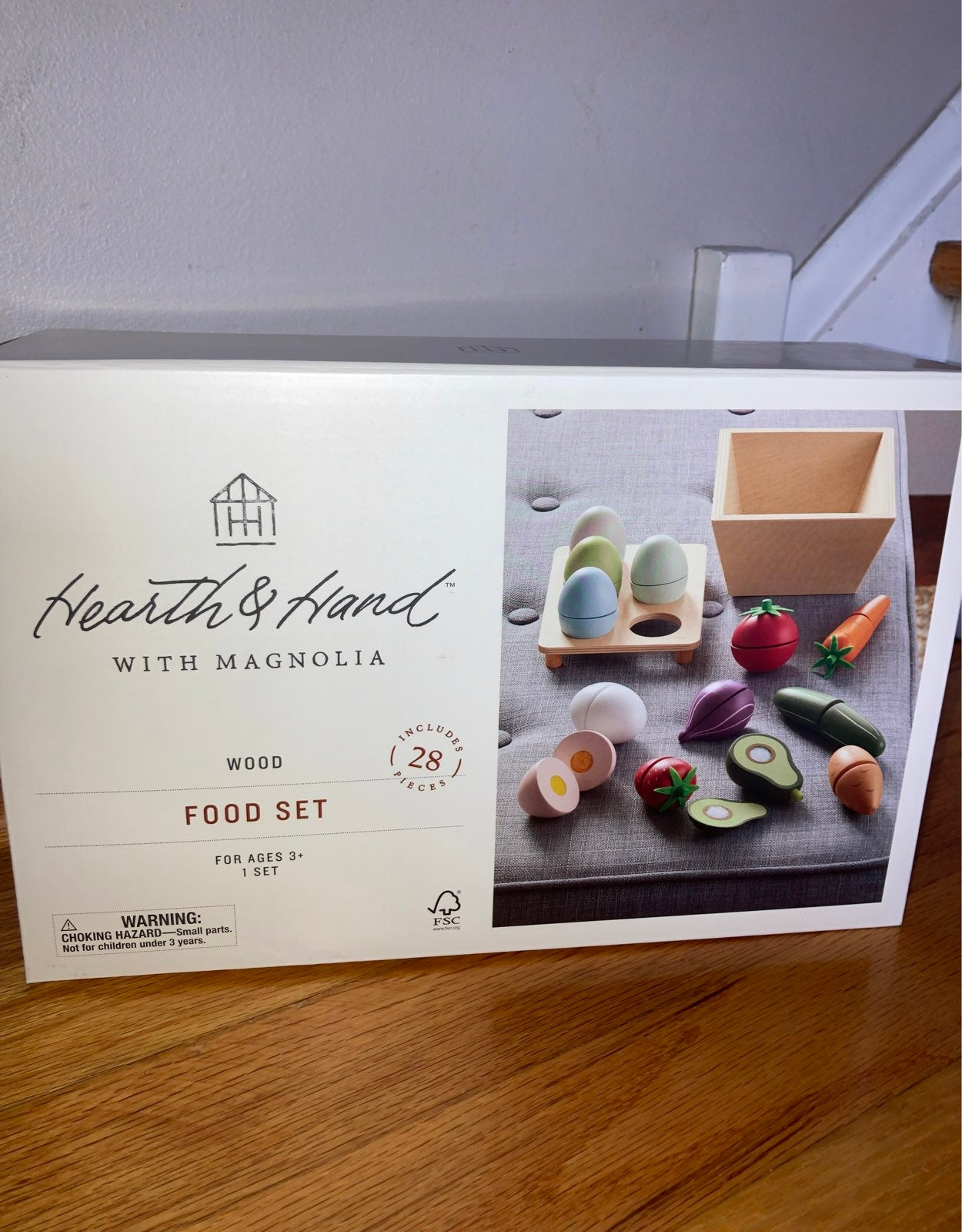 Hearth and Hand Magnolia Toy Food set