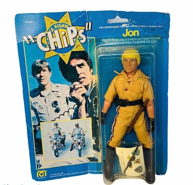 Mego Chips Jon Figure MOC 1977 John toy