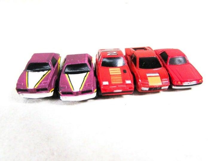 Vintage Micro Mini Cars Mixed Set of 5