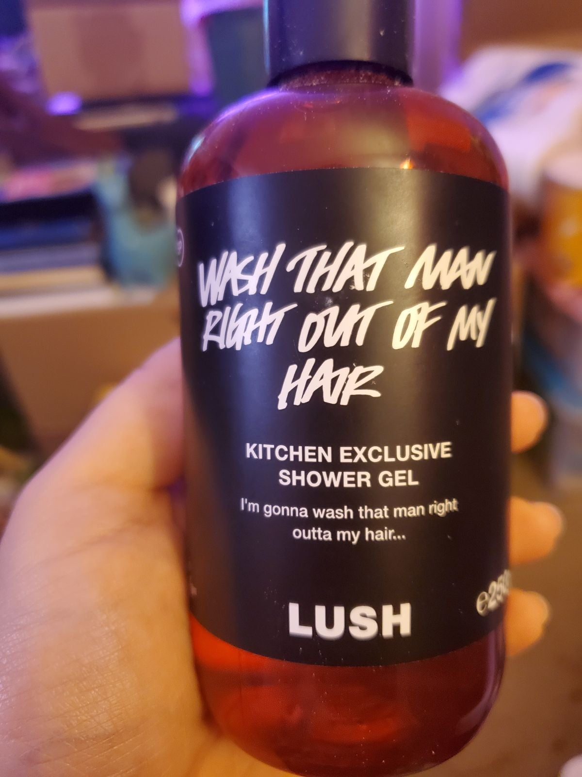 Lush Wash that Man Right Out of My Hair