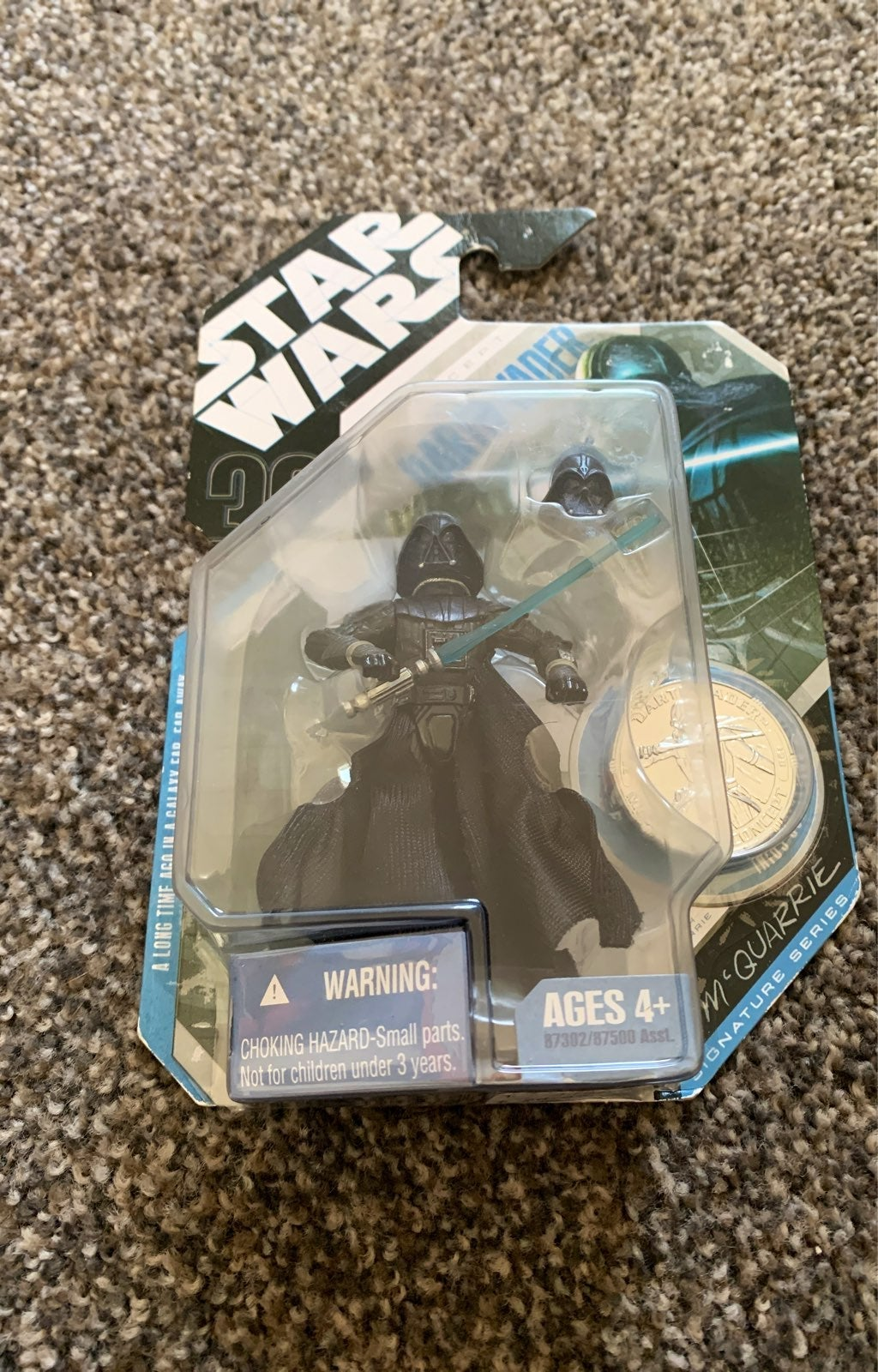 Star Wars concept Darth Vader with Coin