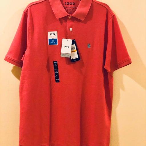 Men's Izod polo shirt NWT Small