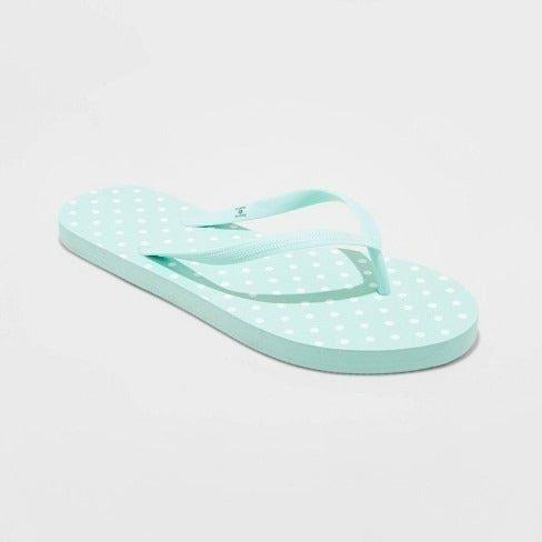 Shade & Shore Brynn Mint Sandals 7