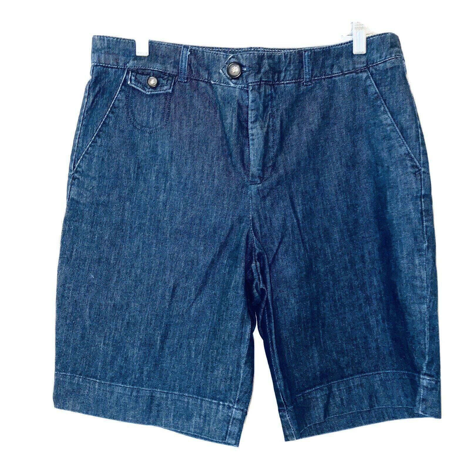 DOCKERS Denim chino bermuda shorts 12