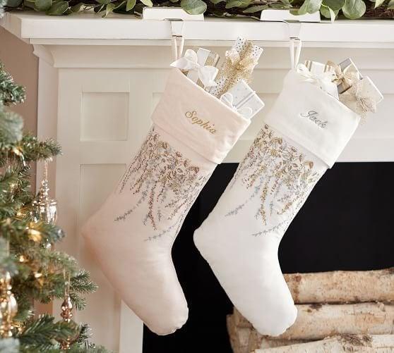 Pottery Barn stocking