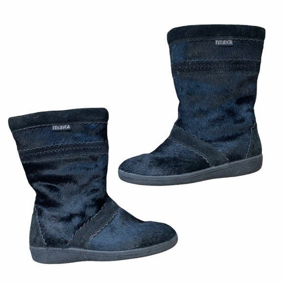 Tecnica Black Fur Winter Boots IT 38
