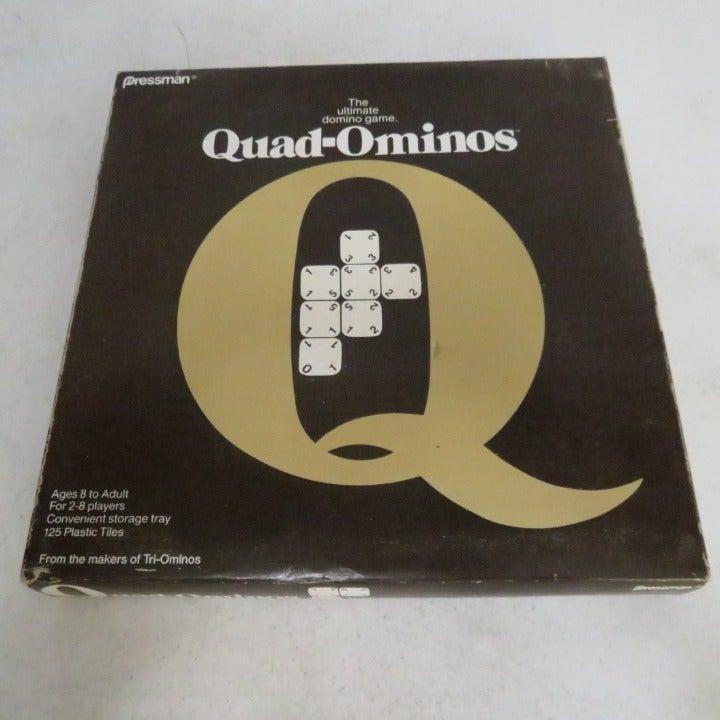 1978 Quad-ominos Domino Tile Board Game