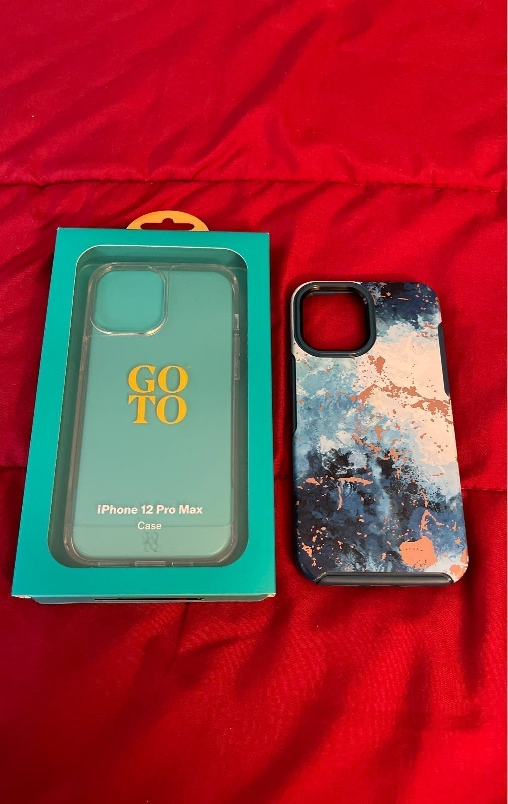 iPhone 12 Pro Max Clear Case & Otterbox