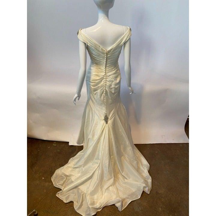 Stunning Vintage Jeweled Wedding Dress