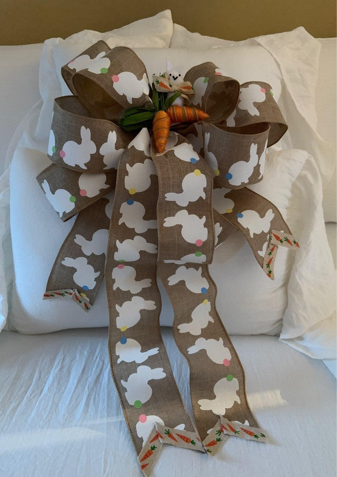 Large wreath or door bow