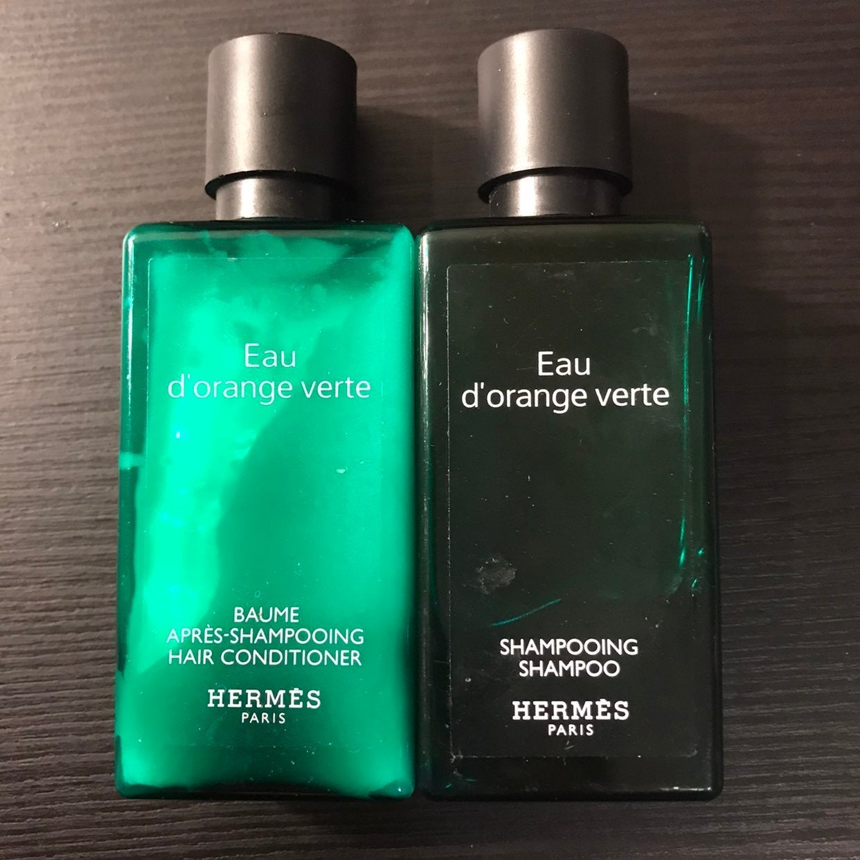 Hermes shampoo and conditioner set