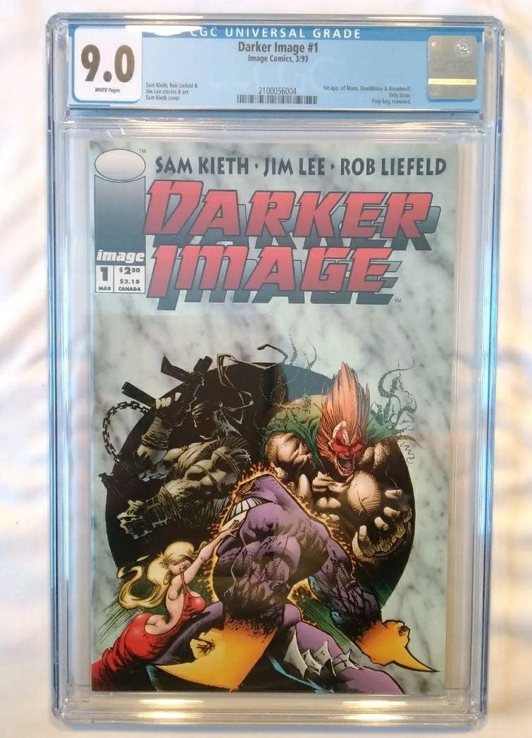 9.0 CGC Darker Image #1 First Deathblow