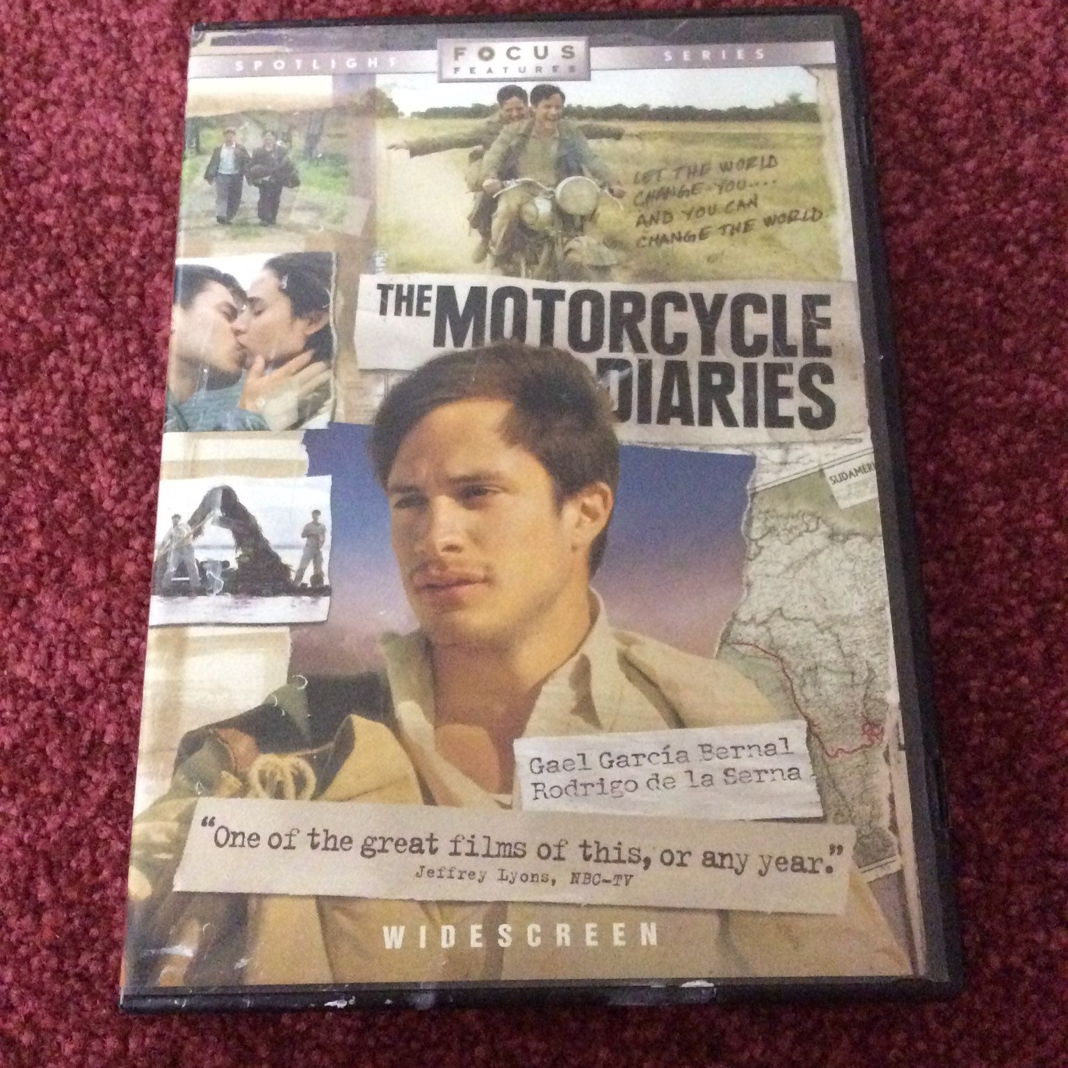 The Motorcycle Diaries DVD