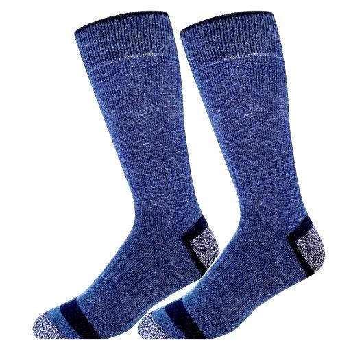 New! Men's Wool Socks, Blue