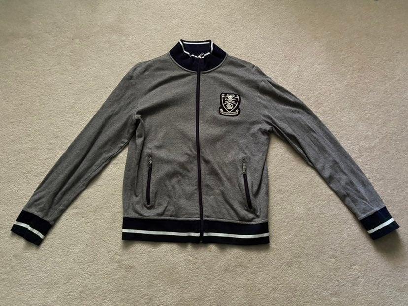 Ralph Lauren Grey Athletic Zip Up