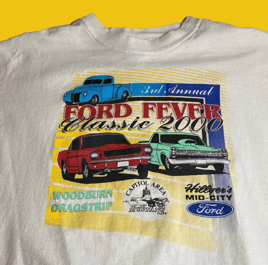 2000 Ford Fever Car Show Tee