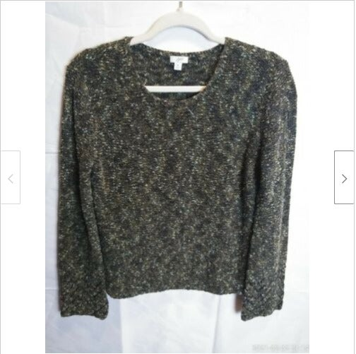 J.Jill Knit Chunky Sweater Top Size M