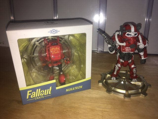 Loot Crate Fallout figures