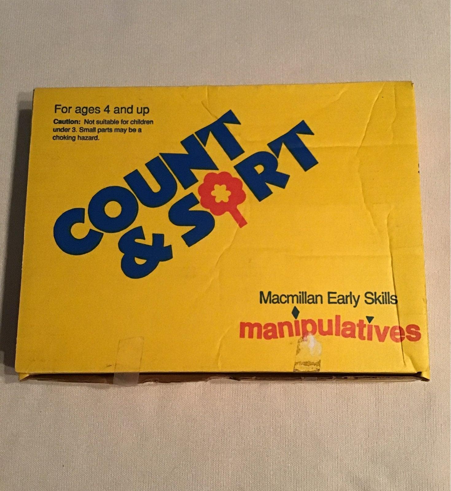 Macmillan Count & Sort Manipulatives