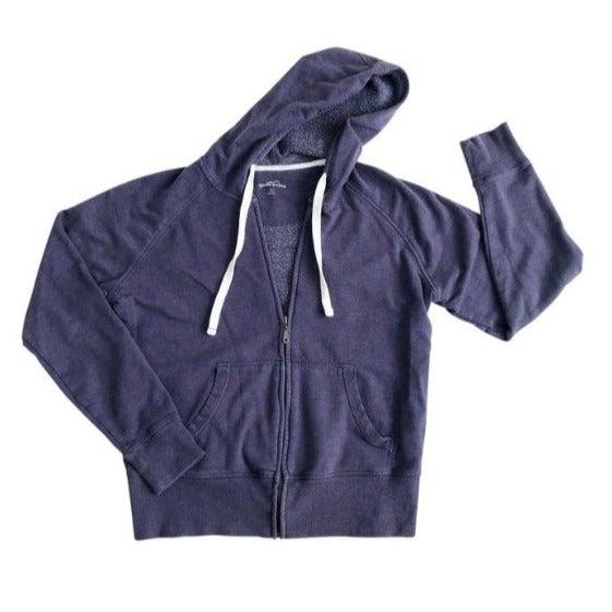 EDDIE BAUER Purple Zip Up Hoodie (M)