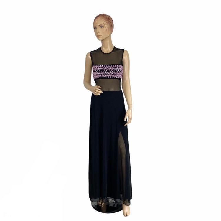 Vintage Cache Gown Long Dress 8
