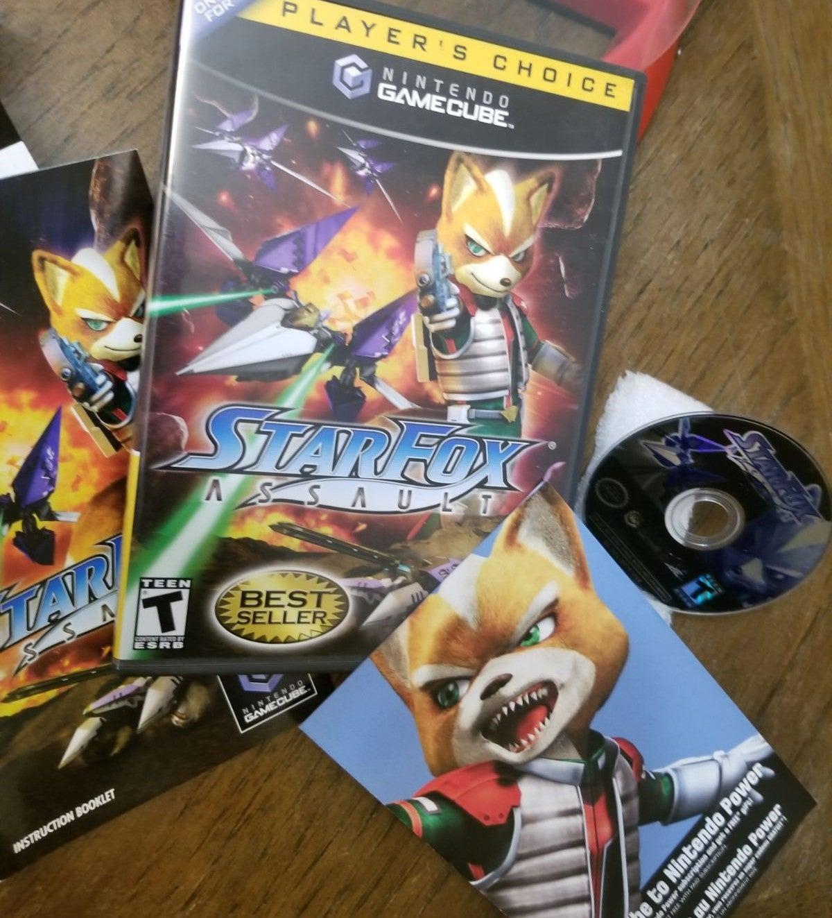 Star Fox: Assault Nintendo GameCube