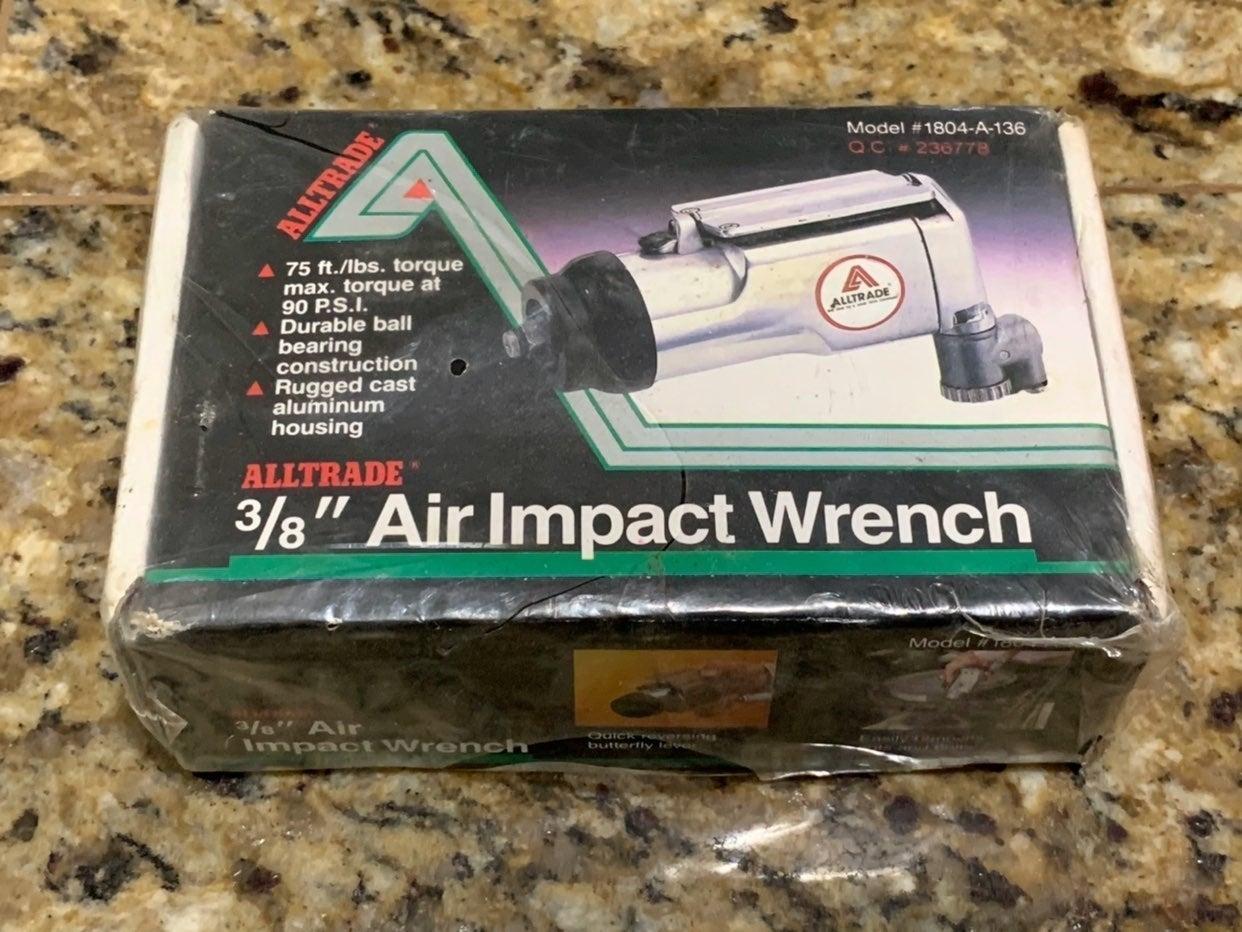 Alltrade 3/8 Air Impact Butterfly Wrench