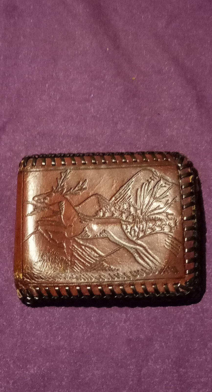 Real Leather handmade wallet