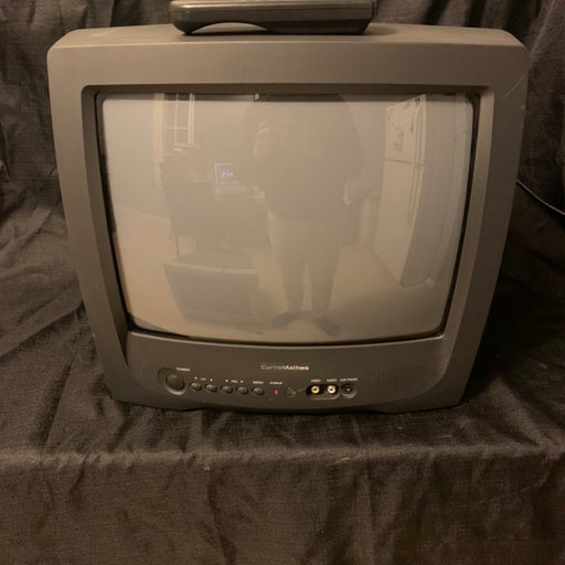 Crt TV with remote