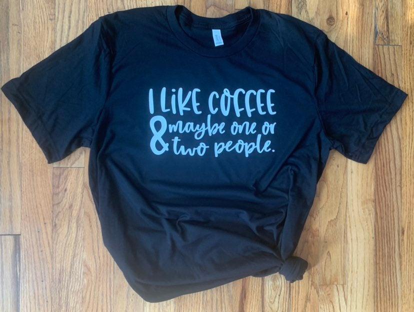 XL Coffee Bella+Canvas soft t shirt