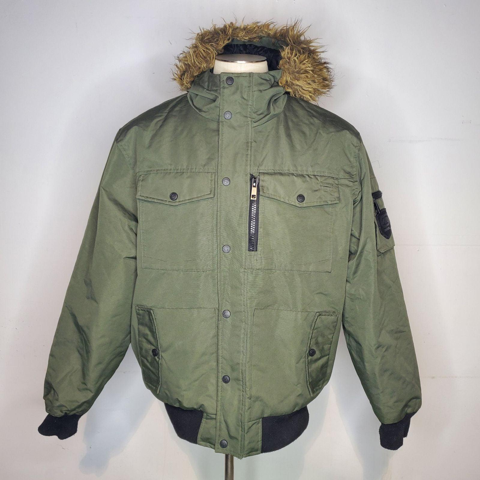 Y2k Ecko Unltd Bomber Jacket Full Zip Fa