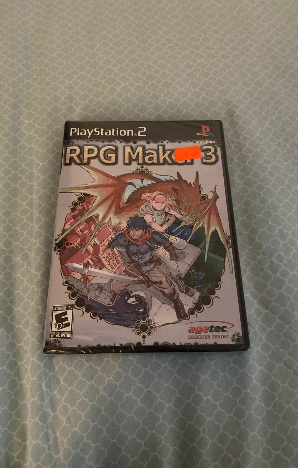 RPG Maker 3 PS2 (New, Factory Sealed)