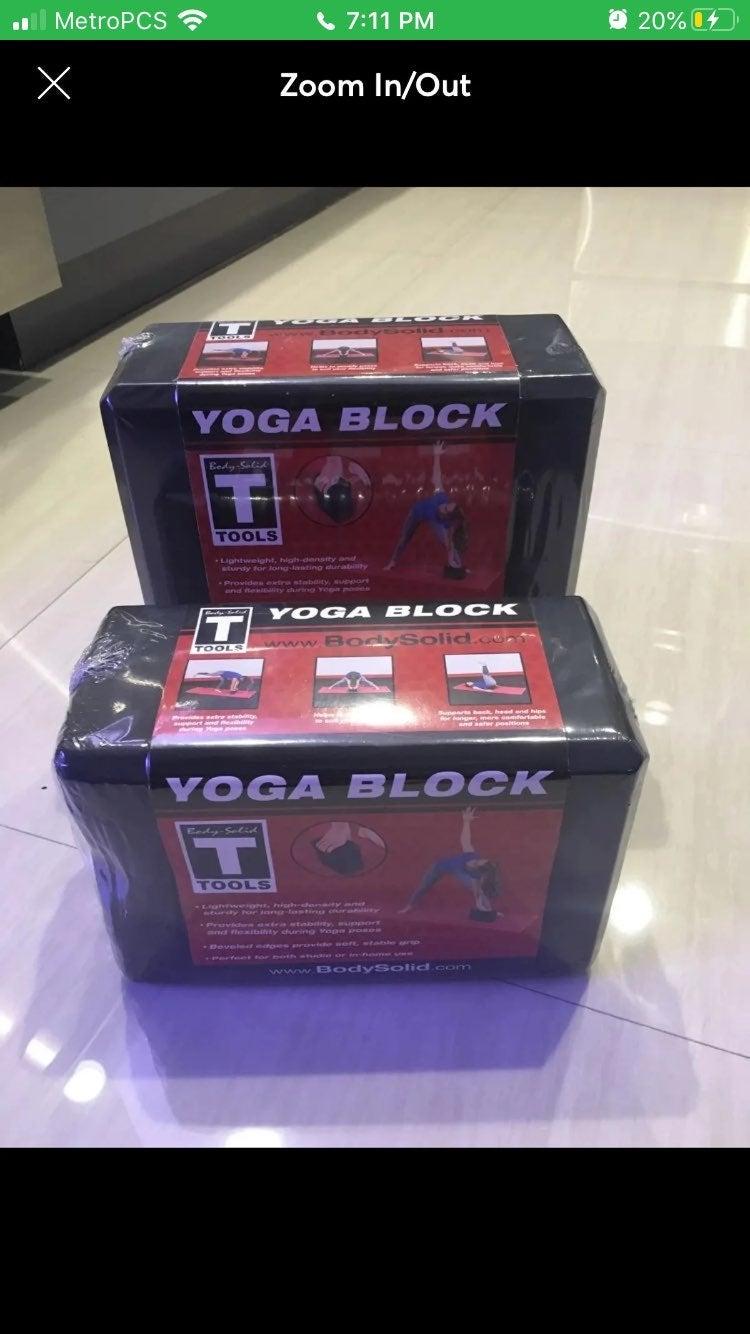 2-Pack Yoga Blocks