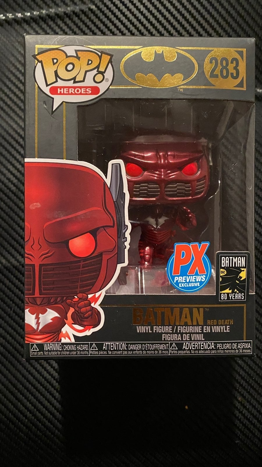 Funko Pop Batman Red Death #283