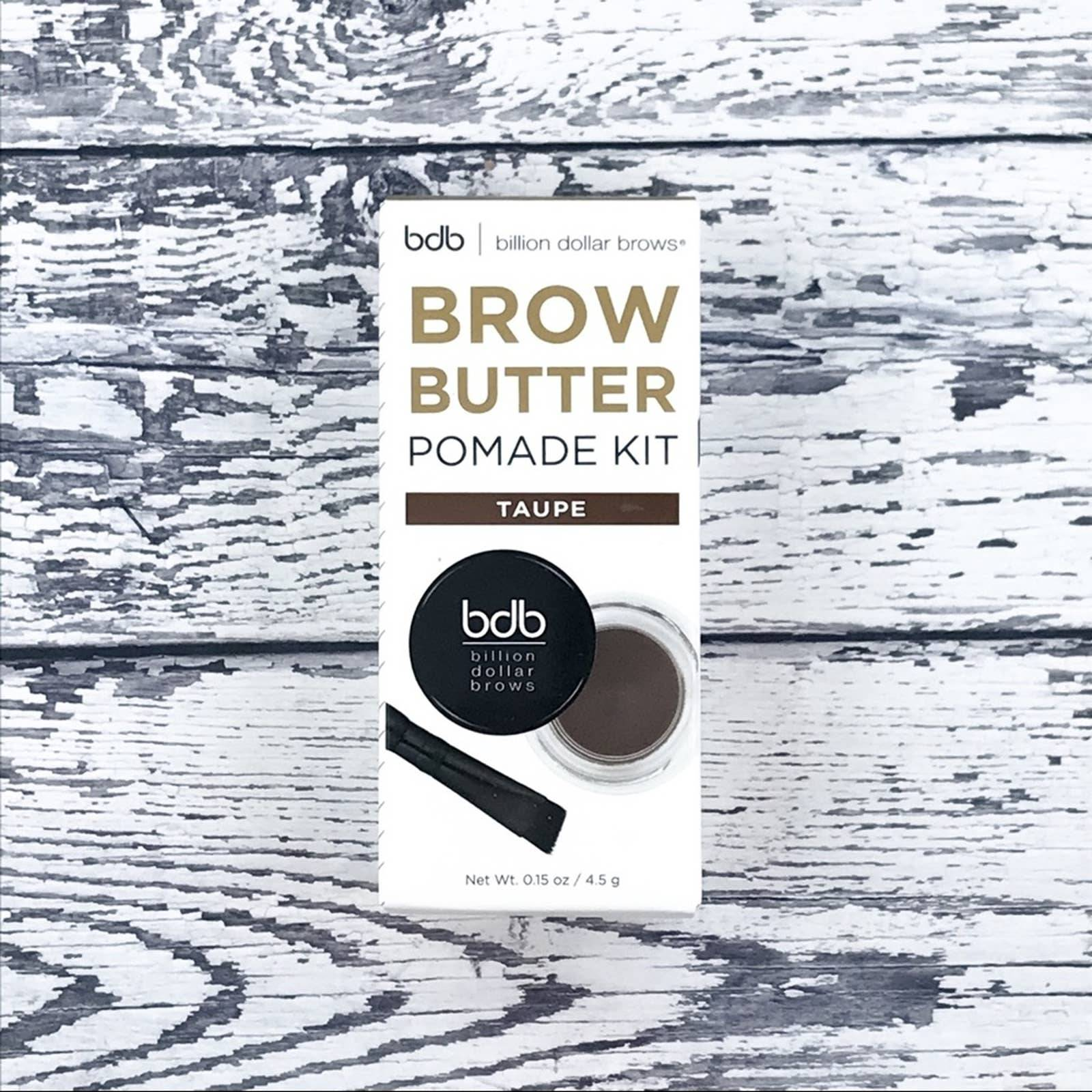 Billion Dollar Brow Butter Pomade Taupe