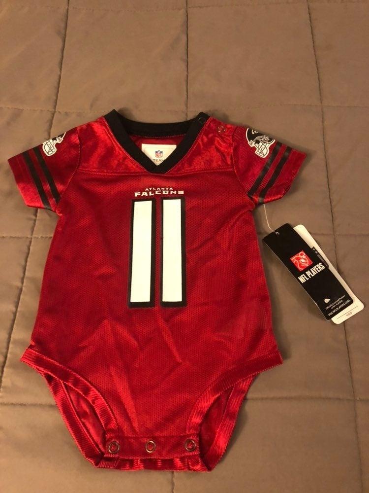 baby NFL onesies 6-9 mo