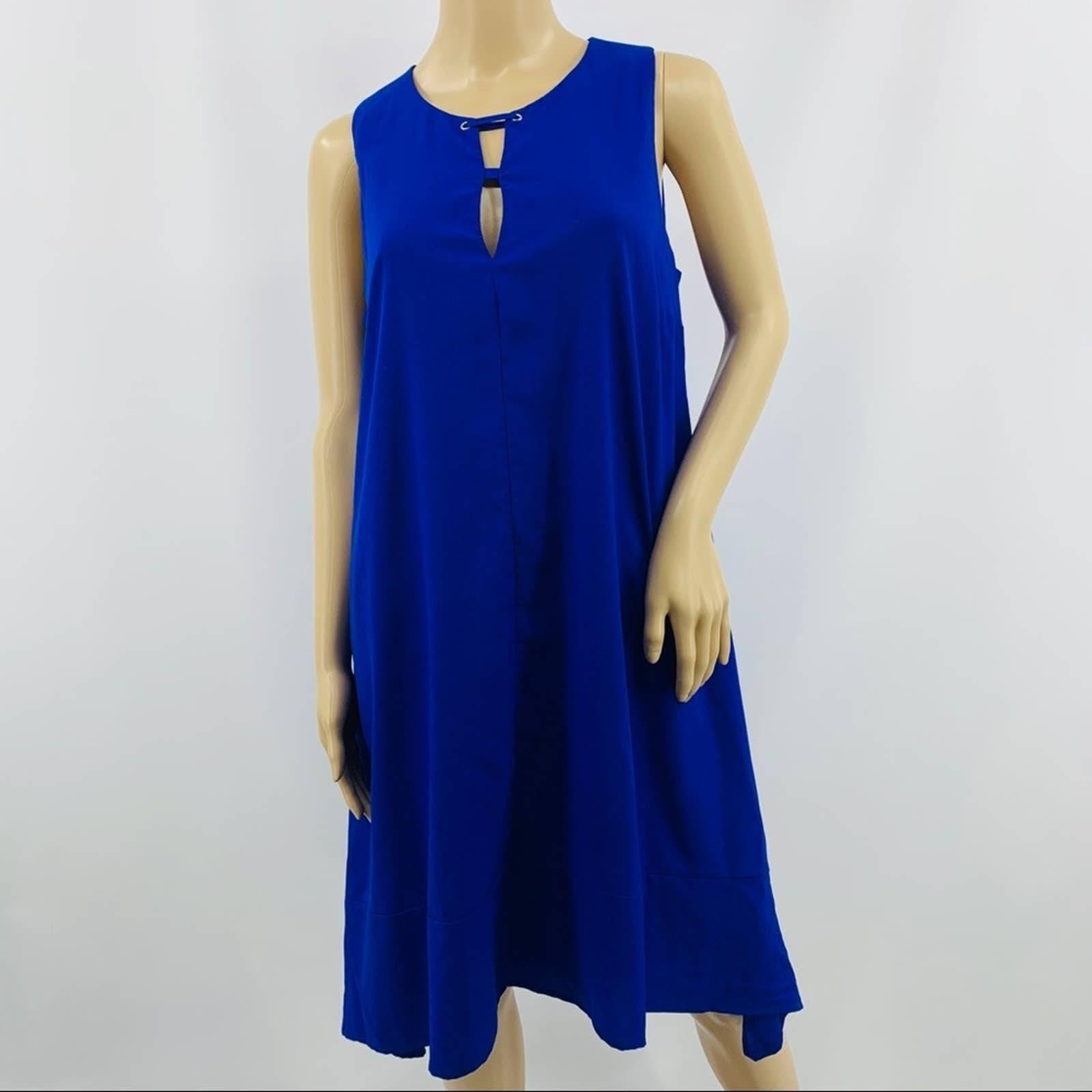 Project Runway A Line Sleeveless Dress