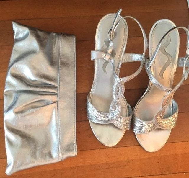 Nina silver glam stilletos sequence -PER