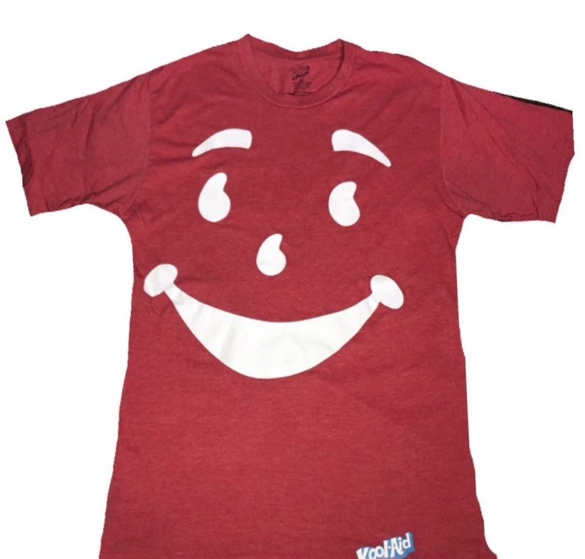 Kool-aid smiley tee